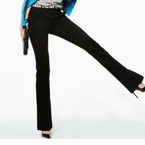 CAbi Top Notch Black Trousers Sz 6 EUC